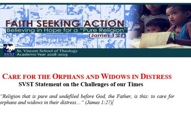 Care for the orphans and widows in distress