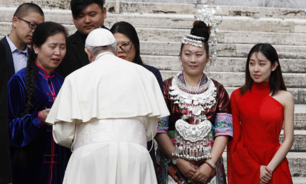 Time to heal, restore unity, evangelize, pope tells Catholics in China