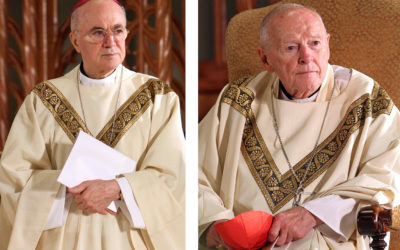 Former nuncio claims Vatican official has evidence of cover-up