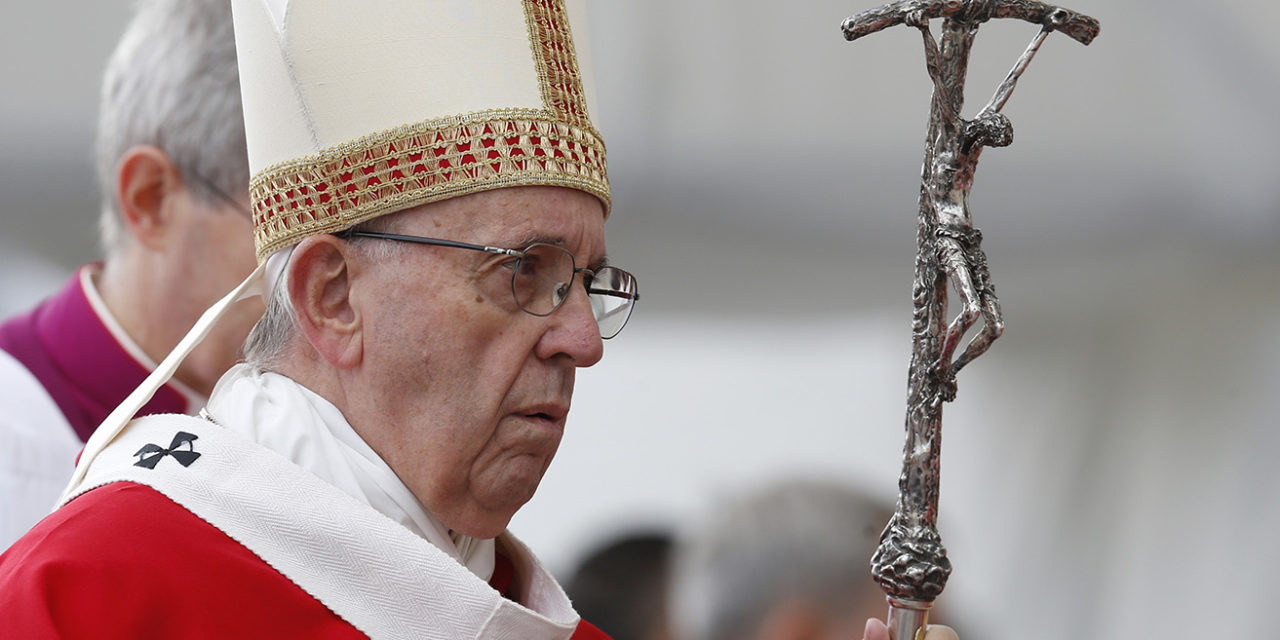 Scandals create outrage, but there is time for conversion, pope says