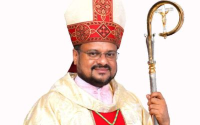 Indian bishop accused of rape arrested