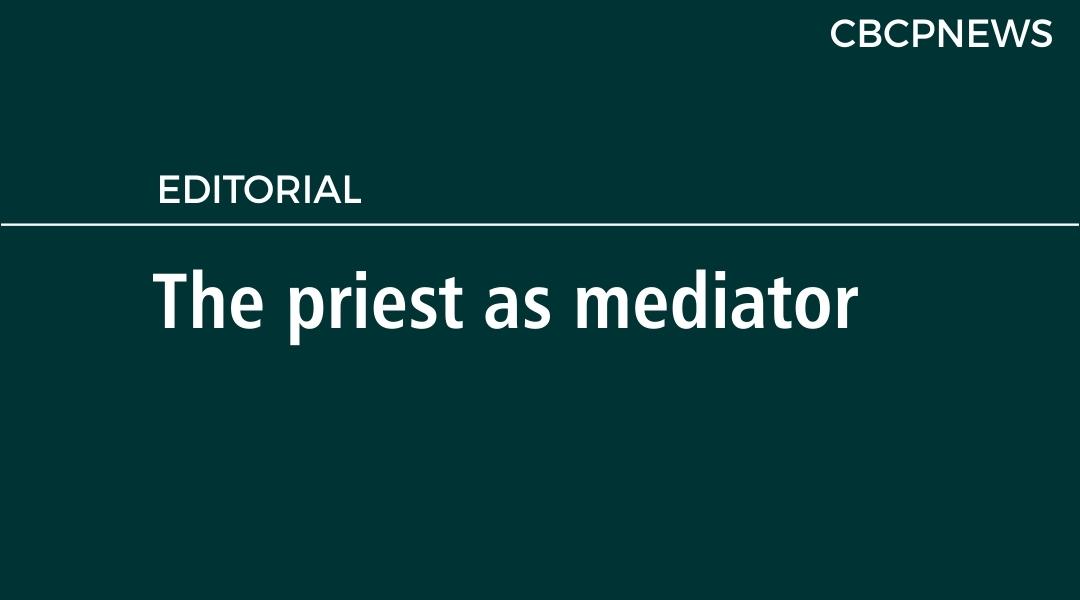 The priest as mediator