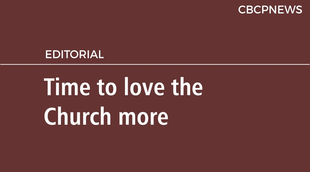 Time to love the Church more