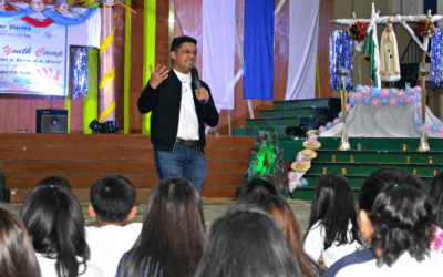 Youth told: 'Offer yourselves to God with courage'
