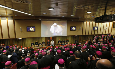 Pope asks bishops, young people to drop their prejudices as synod begins