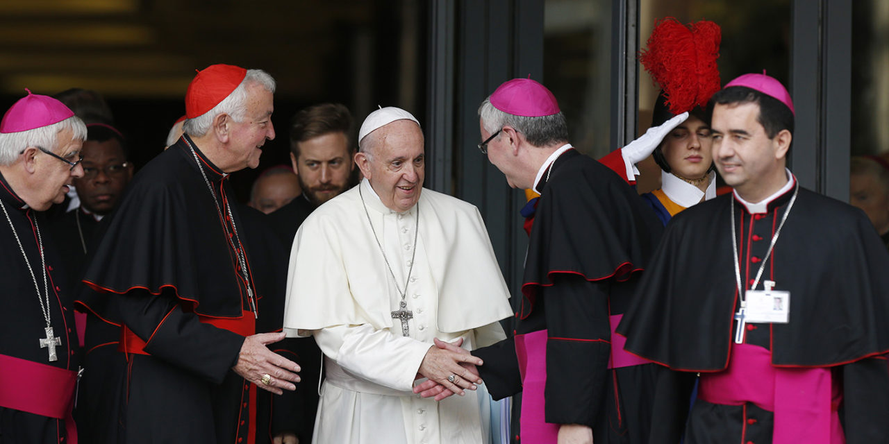 Young people want credibility, someone to walk with them, bishops say