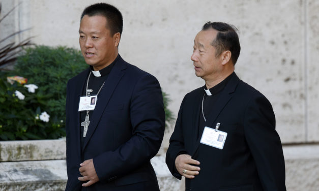 Chinese bishop says agreement is sign that universal church is one