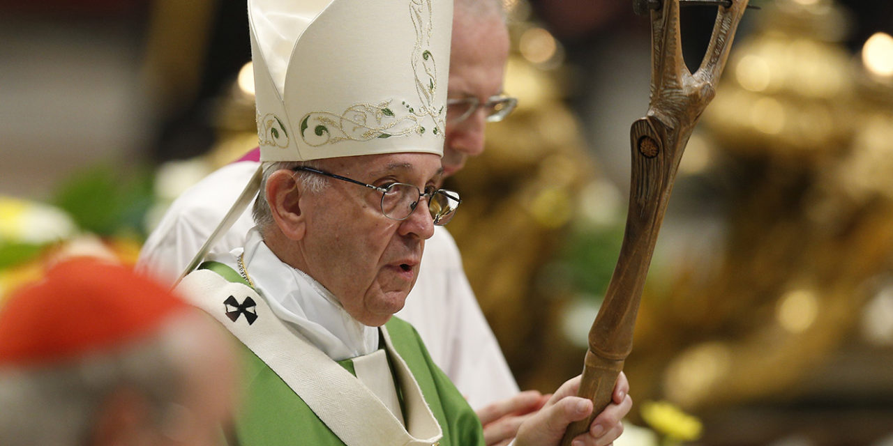 Pope calls deadly attack on synagogue an inhumane act of violence
