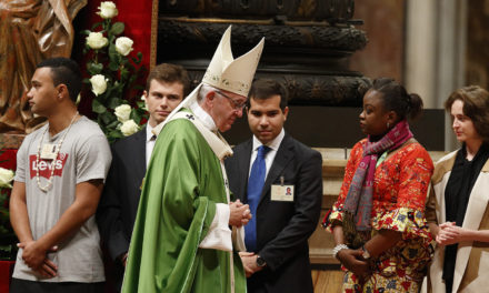 Church and world need young people's involvement, synod fathers say