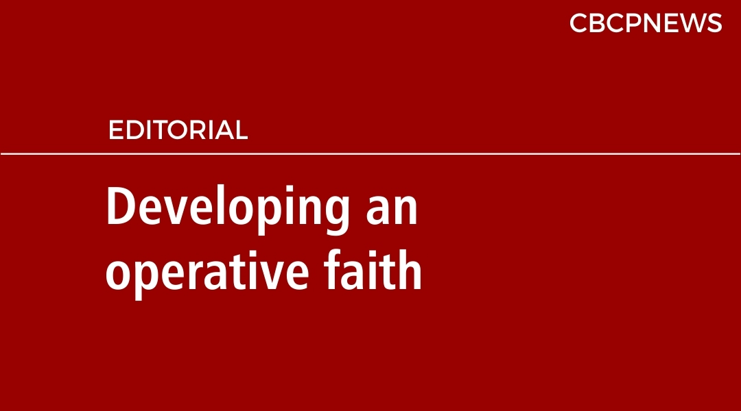 Developing an operative faith