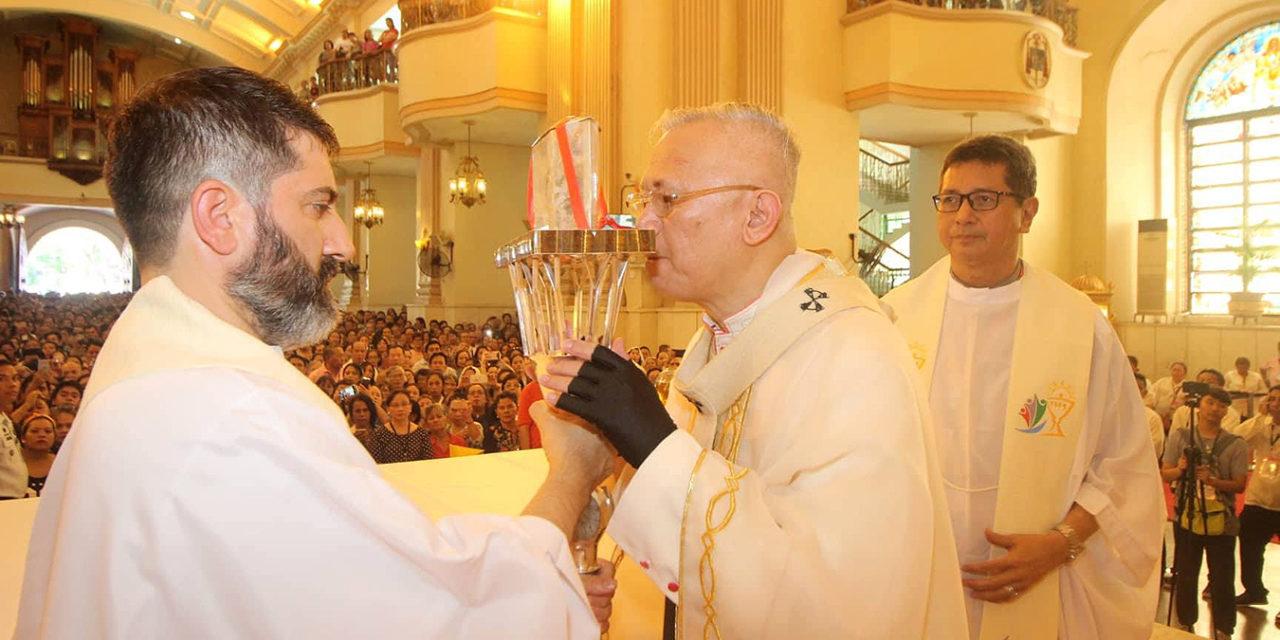 Cebu archbishop urges prayer to end killings