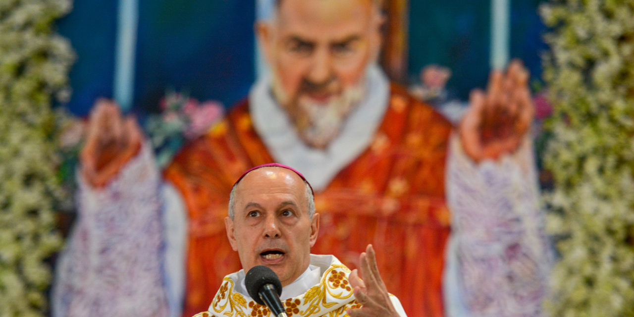Nuncio seeks prayer for Pope Francis amidst 'difficult time'