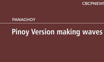 Pinoy Version making waves
