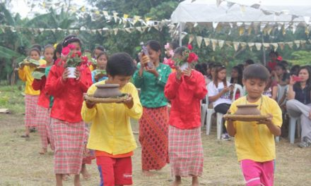 Palawan's IPs celebrate 'good harvest' with Mass