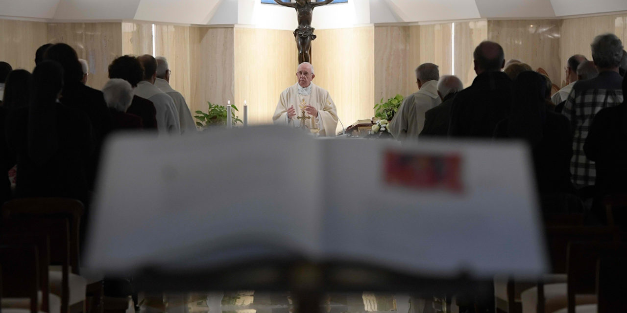 Sacraments are not for sale, pope says at Mass