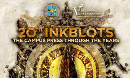 UST to hold 20th Inkblots journalism fellowship