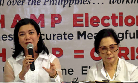 PPCRV elects new chair