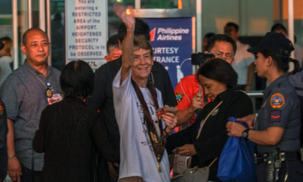 'Make noise' against injustices, Sr. Fox urges Church as she bids farewell to PH