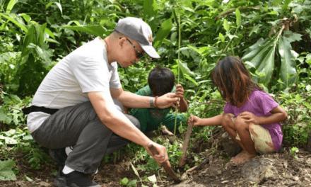Church, IPs plant 2K trees in Palawan