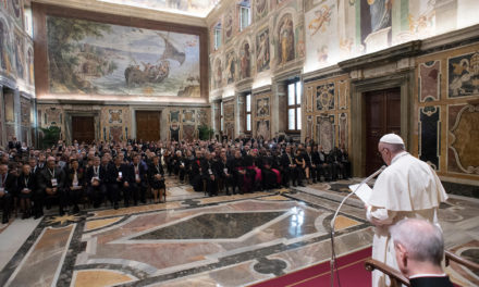 Illegal drug makers, dealers are traffickers of death, pope says