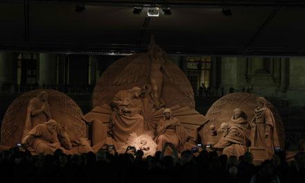'Sand Nativity'