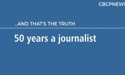 50 years a journalist