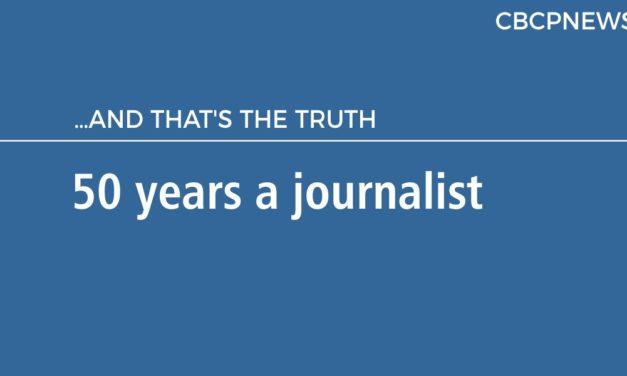 50 years a journalist