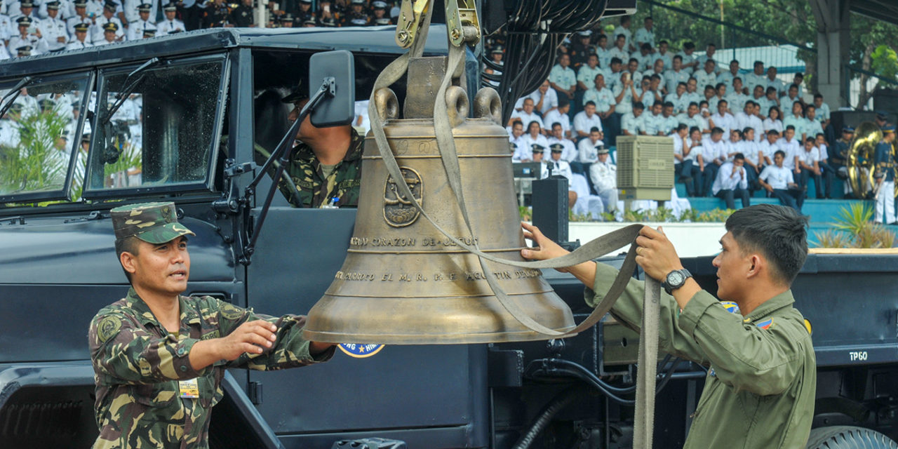 Balangiga church bells back in PH