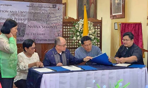 Nueva Segovia archives declared 'national treasure'