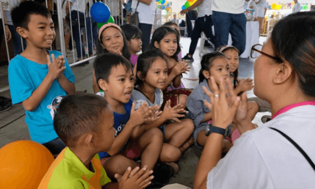 Tondo outreach, proof that 'everyone can contribute'