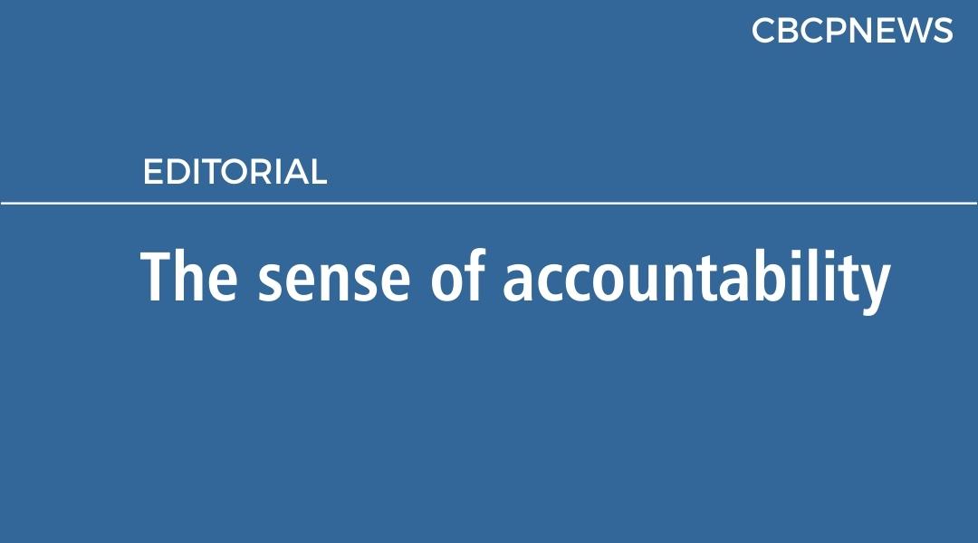 The sense of accountability
