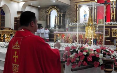 Young saints' relics make rare visit to Batanes