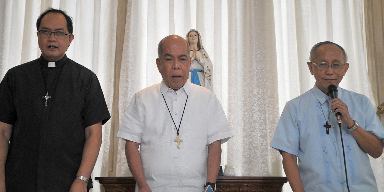 Don't let Jolo bombing spoil peace process—  archbishop