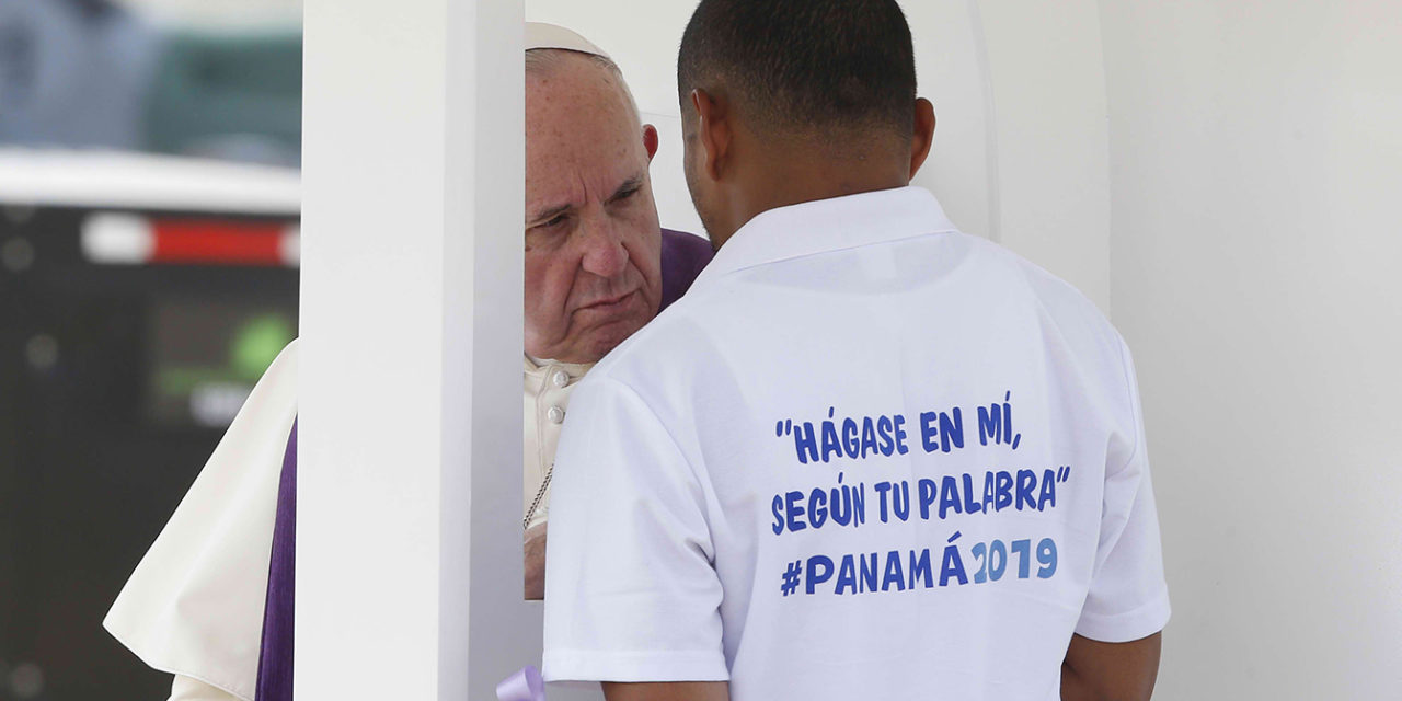 Jesus' love does not use labels, pope tells young detainees in Panama
