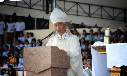 Bishop urges prayer for Duterte
