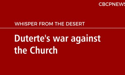 Duterte's war against the Church
