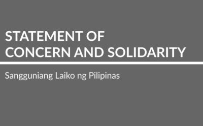 Statement of Concern and Solidarity