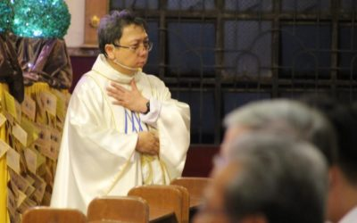 Priest reveals secret to 'beautiful life'