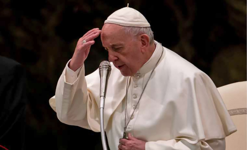 Pope Francis: There is no 'I' in the 'Our Father'