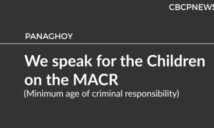 We speak for the Children on the MACR  (Minimum age of criminal responsibility)