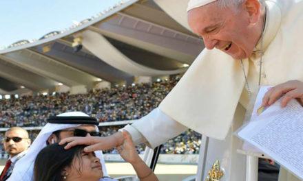 Seek Christ and his humble love, Pope Francis exhorts Catholics in UAE