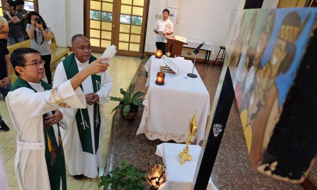 Youth Cross, St. John Paul II relic embark on pilgrimage