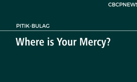 Where is Your Mercy?