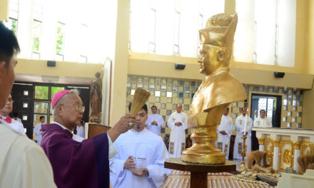 Seminary installs bust of Ilocano bishop being pushed for sainthood