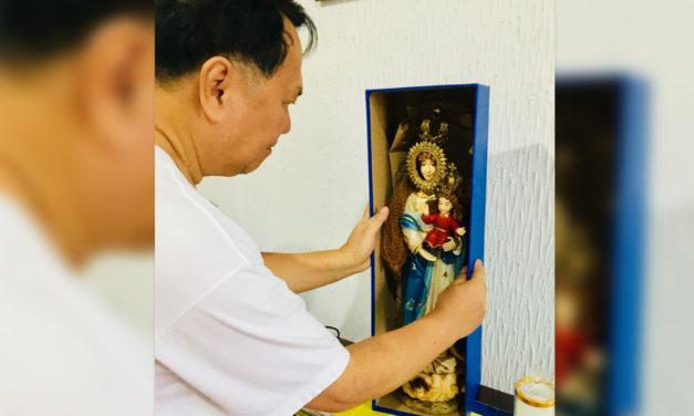 'La Virgen Milagrosa de Badoc' goes home to Japan
