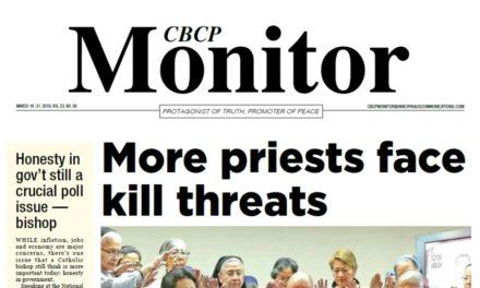 CBCP Monitor Vol 23 No 6