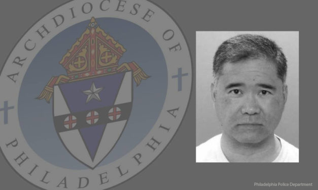 Pinoy priest charged with rape in Philadelphia  barred from ministry since March 2018