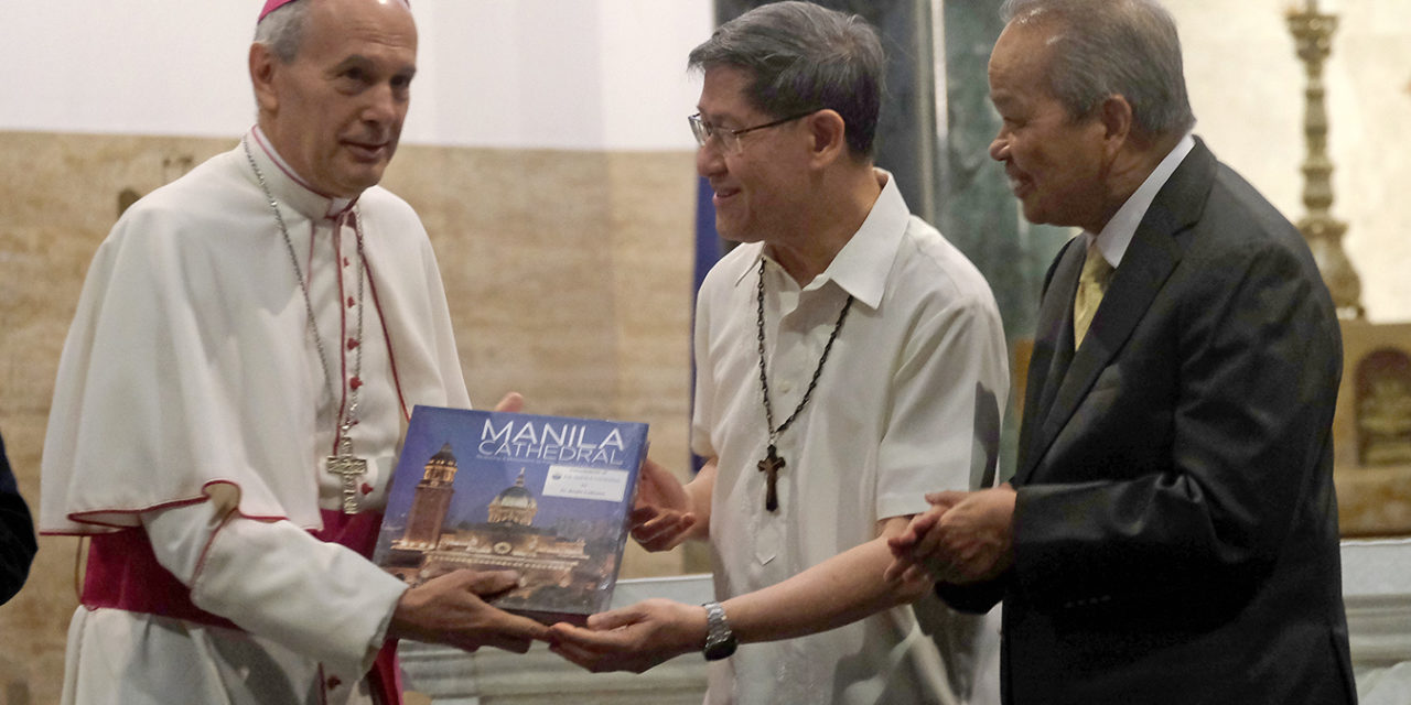 New photo book chronicles Manila Cathedral history