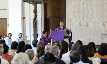 Cardinal Tagle to seminarians: Be vigilant, beware of temptations