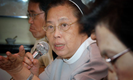 Demeaning women not freedom of speech, nun tells Duterte